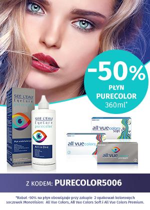SEE L'EAU® EyeCare PureColor Płyn do soczewek kolorowych