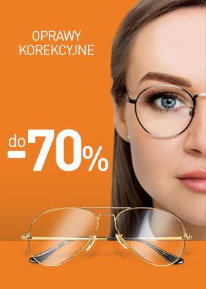 Okulary korekcyjne - SALE